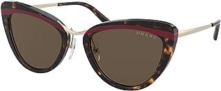 نظارات شمسية من برادا PR 25 XS 32006B هافانا/احمر/هافانا