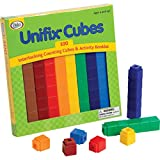 Unifix Cubes: 100 Interlocking Counting Cubes & Activity Booklet