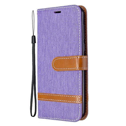 Generic Handyhülle für Huawei Y5p / Honor 8S Hülle Leder Schutzhülle Brieftasche mit Kartenfach Magnetisch Stoßfest Handyhülle Case für Huawei Y5p - XIBIF020955 Violett