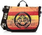 Nintendo Super Mario Bros. - Distressed Retro Striped Messenger Bag, Unisex a...