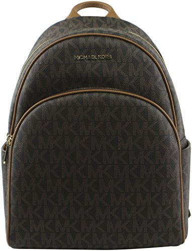 "Leather Interior wall and slip pockets Exterior zip pocket Adjustable shoulder straps 11""W x 15""H x 5""D"