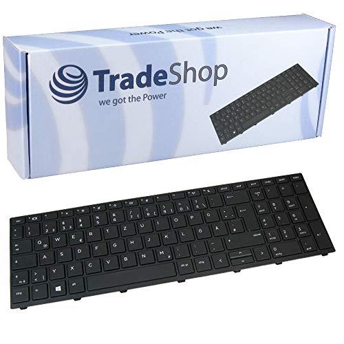 Original Laptop Tastatur mit schwarzem Rahmen QWERTZ Deutsch für HP ProBook 450 455 470 G5 Serie ersetzt NSK-XK0SQ 9Z.NEFSQ.00G (Deutsches Tastaturlayout)