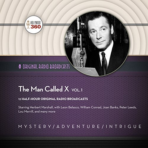 The Man Called X, Vol. 1 audiobook cover art