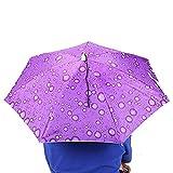 Wifehelper Sombrero Anti-UV montado en la Cabeza Protector Solar Paraguas de Pesca Sombrilla Ajustable a Prueba de Lluvia Impermeable(#3)