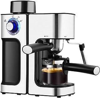TWDYC Cafetera Espresso automática Máquina de café eléctrico Cappuccino de Latte Leche espumador de Leche