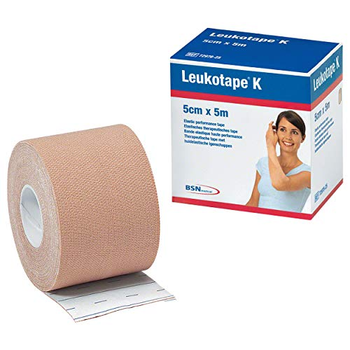 Leukotape K 5 cm Hautfarben, 1 St