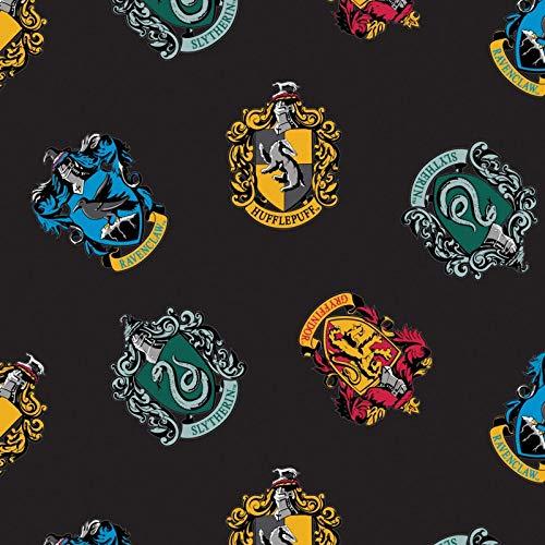 Harry Potter Wizarding World Schools Fleece Fabric - 2 Yards