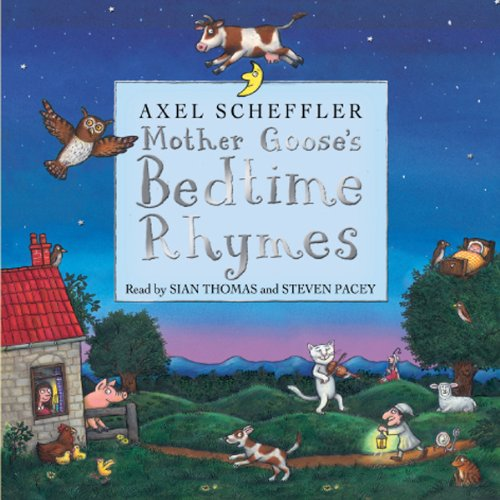 Mother Goose's Bedtime Rhymes audiobook cover art