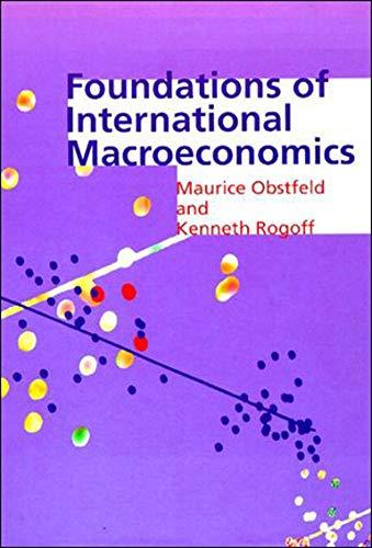 Foundations of International Macroeconomics (The MIT Press)の詳細を見る