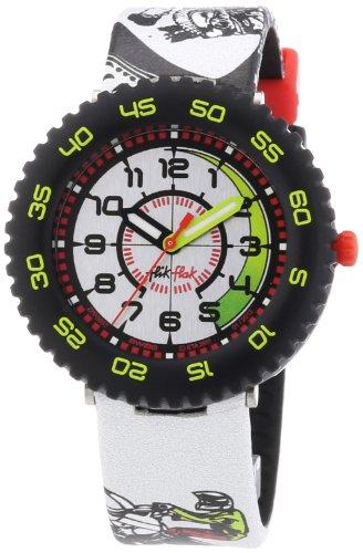Flik Flak Watches Jungen-Armbanduhr Biker Jumps Analog Quarz Textil FPS037
