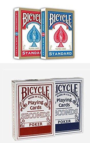 4 Kartenfächer Bicycle : 2 Standard index + 2 Second