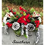 Cardinal-Christmas-Cemetery-Saddle-Winter-Grave-Pillow-Berries-Pinecone