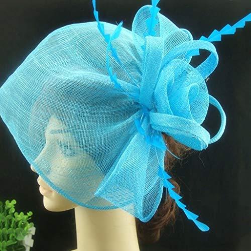 Lxddjth Damas Mujeres Chica Tocados Decoraciones Velo Velos de Jaula Sombreros de...