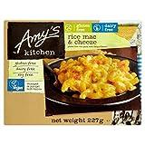 Amy's Kitchen arroz mac y queso 255g | Macarrones | Sin Gluten | Sin Lácteos | Congelado (Pack de 6)