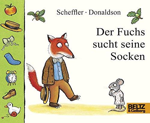 Der Fuchs sucht seine Socken: Papp- und Klapp-Bilderbuch