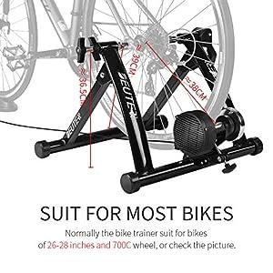 Entrenador de bicicleta de ejercicio interior Entrenamiento en el hogar Resistencia magnética de 6 velocidades Entrenador de bicicleta Carretera MTB Entrenadores de bicicleta Rodillo de ciclismo