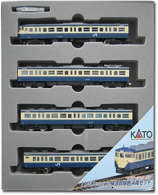 Kato 10197 113 Yokosuka Line color AddOn 4Car Set