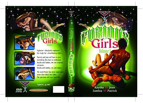 French topless mixed wrestling - Furious girls vol.1 (Female vs Male) DVD Amazon's Prod