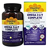 Country Life - Ultra Concentrated Omega 3-6-9 Complete - 90 Softgels