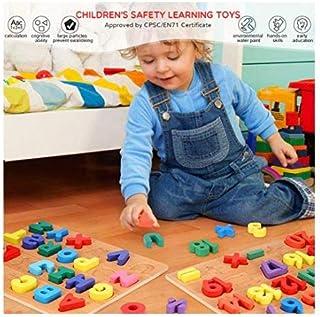 لوح أحجيات الأرقام - لعبة تعليمية خشبية للأطفال والرضع