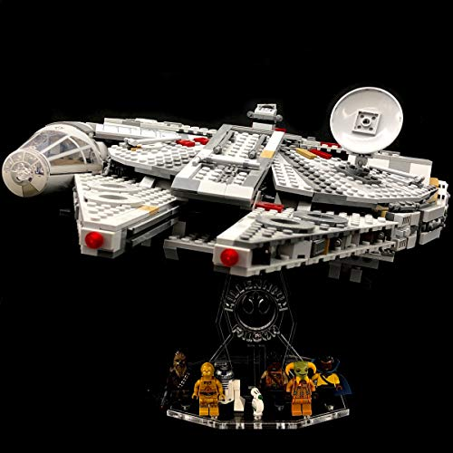 AREA17 Acryl Display Stand - Acrylglas Modell Standfuss für Lego 75257 Millennium Falcon