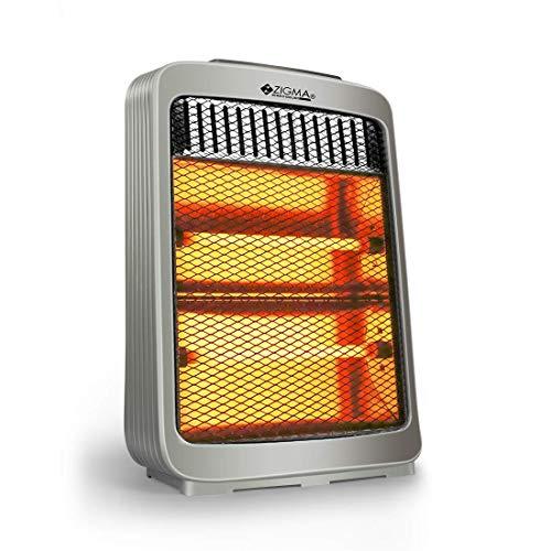 Zigma ISI Certified T-1210 800 Watts Infrared Quartz Radiant Room Heater
