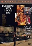 Everyone Says I Love You -  DVD, Rated R, Woody Allen