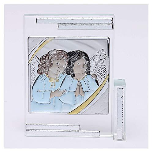 Holyart Geschenkidee Bild mit Schutzengeln, 10x10 cm