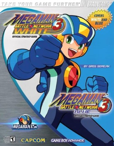 Mega Man Battle Network(tm) 3 Blue & White Official Strategy Guide