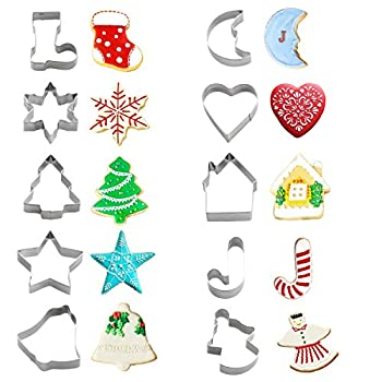 Best small christmas cookie cutters Reviews