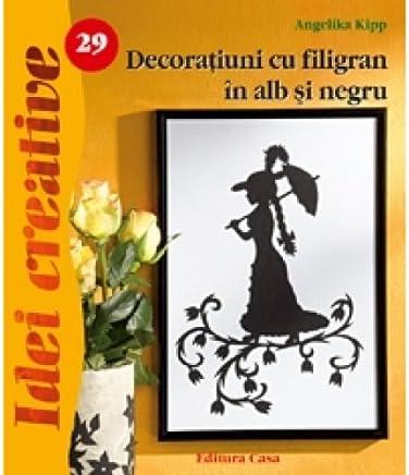 Decoratiuni cu filigram in alb si negru Angelika Kipp