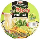 ACECOOK Oh Ricey Fideos Arroz Instantáneos Sopa de Pollo 12x70gr