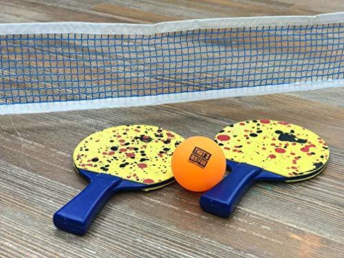 Sunflex Unisex Tischtennis-Set Mini, Mehrfarbig, M