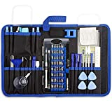 GANGZHIBAO 88 in 1 Repair Tool Kit for computer,pc,iphone, Screwdriver Set for Tablet, Macbook, PC,Xbox, Game Console with Anti Static Wrist Band, Spudger