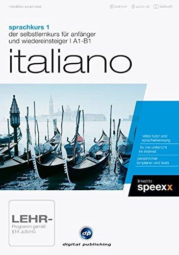 interaktive sprachreise sprachkurs 1 italiano: der selbstlernkurs für anfänger & wiedereinsteiger / Paket (Deutsch)