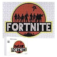 パズル 300ピース フォートナイト 大人用 子供用 木製 木のパズル 娯楽誕生日プレゼント 人気 キャラクター