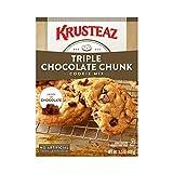 Krusteaz Bakery Style Cookie Mix, Triple Chocolate Chunk, 15.5-Ounce...