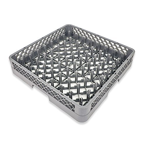 Crestware Base for Plate & Tray Dish Rack, Standard, Silver
