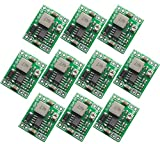 Kyrio Lot de 10 modules DC-DC 5 V 3 A Mini Step Down Alimentation Convertisseur Module 7-28 V 9 V 12 V pour Arduino Remplacer LM2596