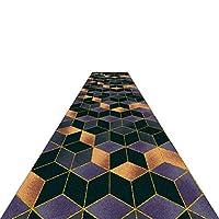 廊下敷きカーペット 3Dパッチワークランナーラグカーペット- 100cm / 200cm / 300cm / 350cm / 400cm / 450cm / 500cm / 550cm / 600cm / 650cm / 700cm エクストラロングエリアラグ (Size : 100x500cm)