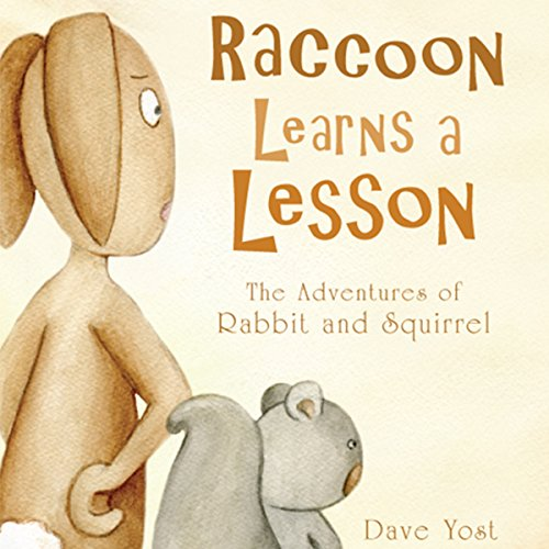 Raccoon Learns a Lesson audiobook cover art