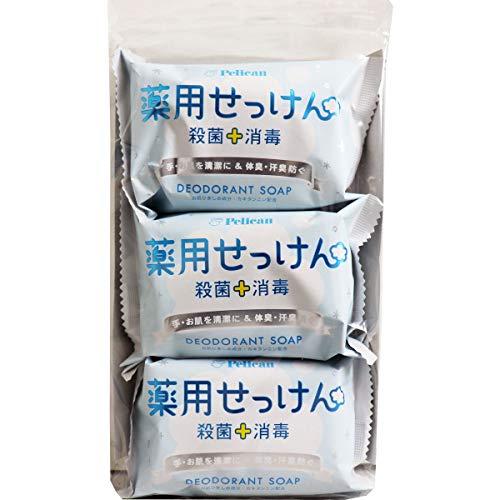 ペリカン石鹸『薬用石けん』