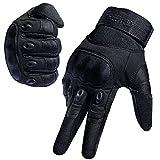 FREETOO Motorradhandschuhe Herren Sport Handschuhe Vollfinger Taktische Handschuhe mit gepolstertem...