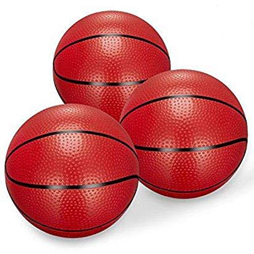 Mini Basketball Kick Balls Ersatz Gummi Kunststoff Basketball Spielzeug Kunststoff Basketbälle 6,29
