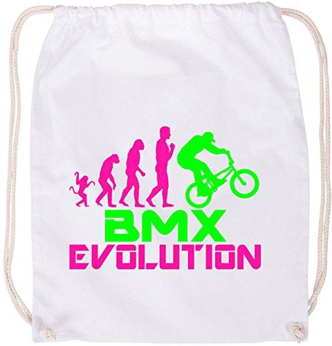 EZYshirt® BMX Evolution Baumwoll Stoffbeutel