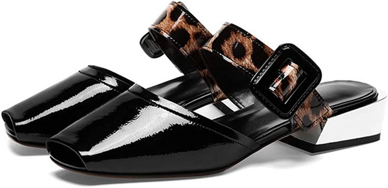 Damenschuhe mit quadratischem Kopf Flache Flache Pumps Schuhe Damen Party High Heels Damen Sandalen Einzel Schuhe  faire Preise