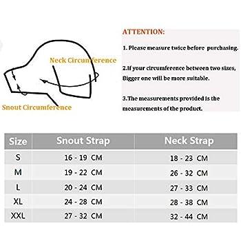 ILEPARK Muselière pour Chiens, Beehive Muselière en Nylon Réglable pour Chiens, Respirant Museliere Petit Moyen Grand Chien Anti Aboiement Anti-Morsure (S,Noir)