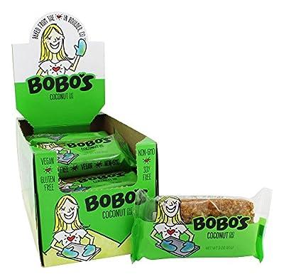Bobo's Oat Bars - All Natural Bars Box Coconut