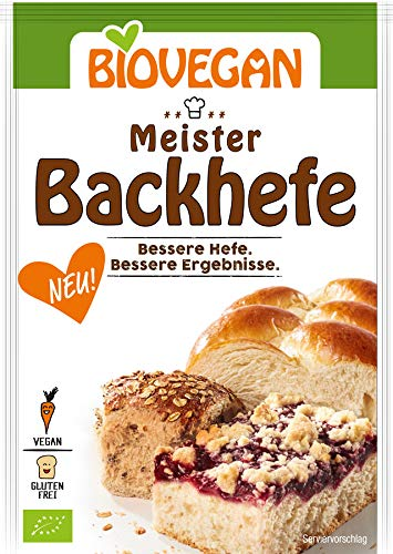 BioVegan Meister-Backhefe (7 g) - Bio