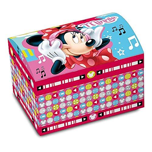 Star Licensing Disney Minnie Boîte à Bijoux, Carton, Multicolore, 14 x 10 x 10 cm
